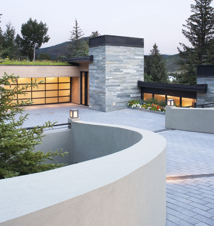 a beautiful home in a Vail community