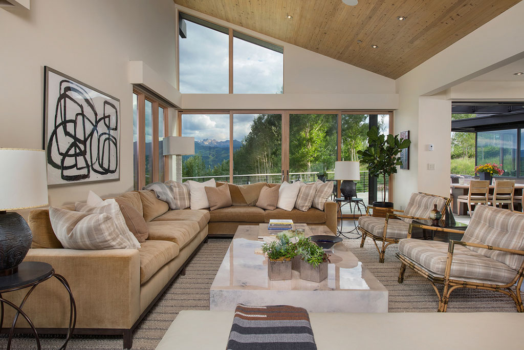 Mountain Star Home Remodel Living Room